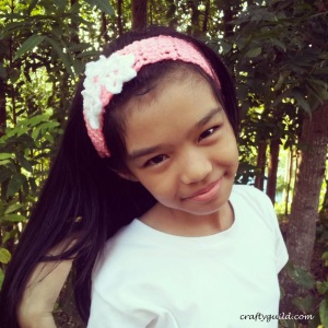 star petaled headband