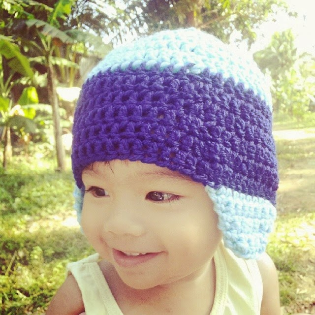 Crochet Baby Hat With Earflaps for Beginners