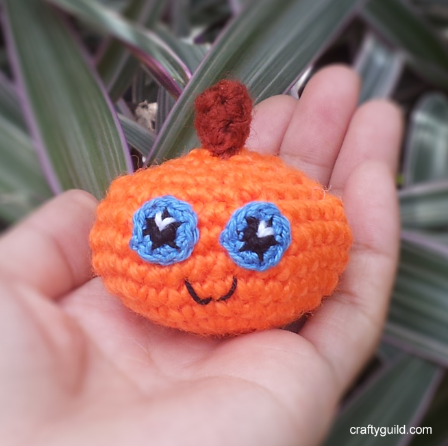 cute pumpkin amigurumi - halloween