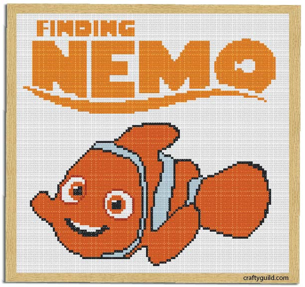 Free Nemo Cross Stitch Pattern