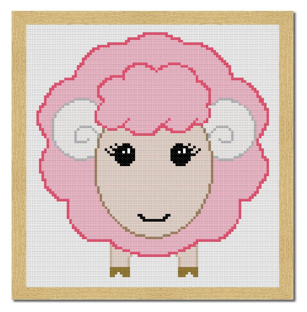 Free Sheep Cross Stitch Pattern