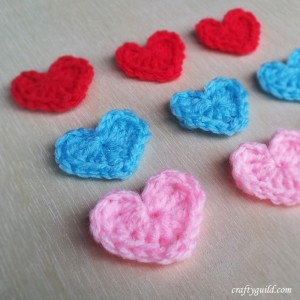 how to crochet a heart video tutorial
