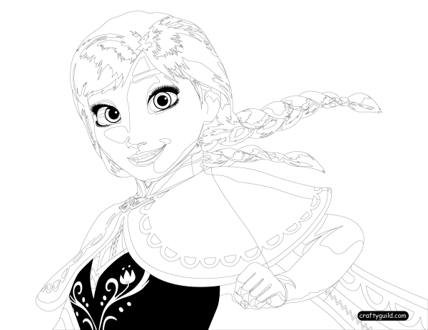 Frozen Coloring Page 03