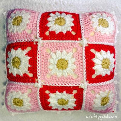 How to Crochet a Daisy Granny Square